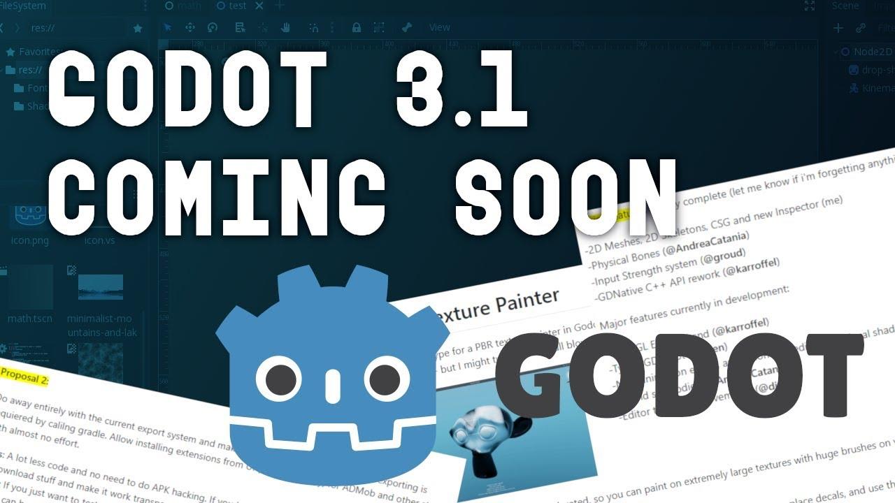 Godot Development Update May 2018