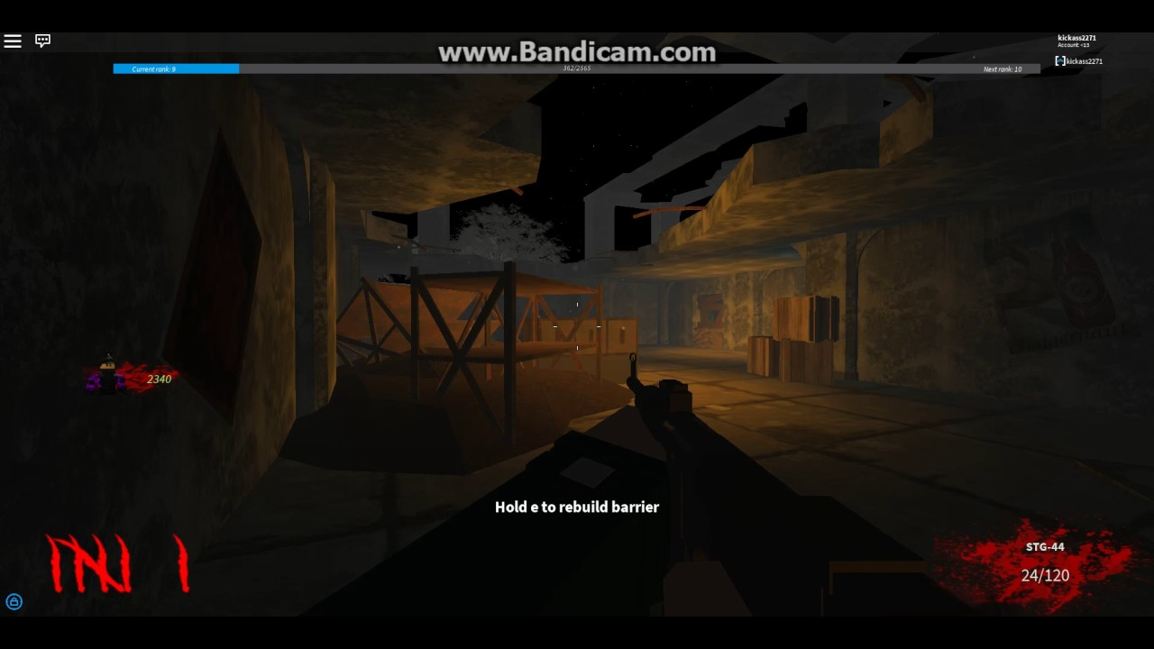 Gameplay Of Resurrection Roblox Call Of Duty Zombies Part 3 Youtube