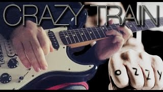 Danilo - Crazy Train - Guitar Solo (Ozzy Osbourne Cover)