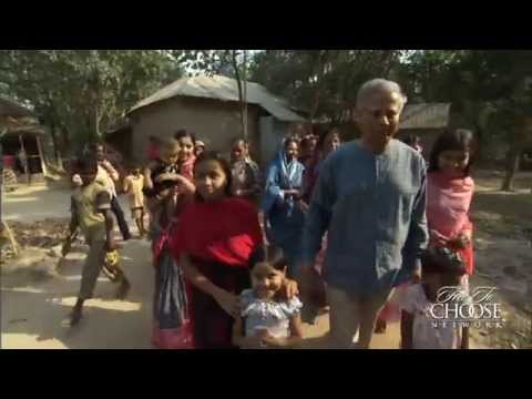 Muhammad Yunus Attacks Poverty with Microcredit