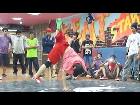 BBoy Blond - Extreme Crew Workshop in India - THE CULTURE Jam 2011