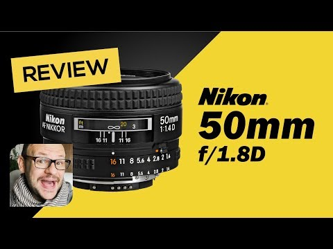 Lente Nikon 50mm F/1.8D - Review em Português - Falando de Foto com Willian Lima