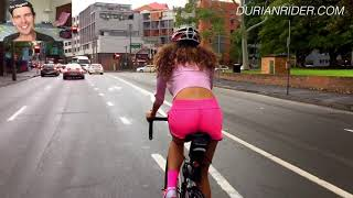 How Much Weight Did She Lose Riding 379km A Day For A 365 Days In A Row!