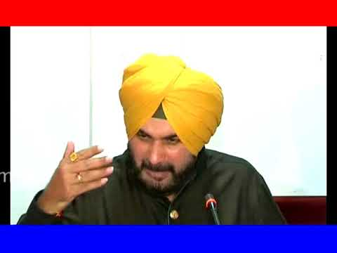 Navjot Singh Sidhu Addressing Media In Amritsar Punjab Today !