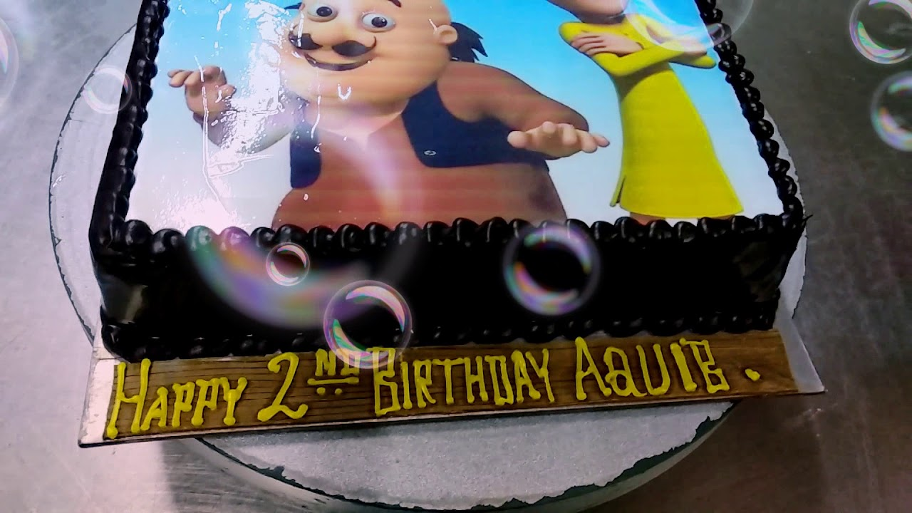Motu Patlu Cake Youtube