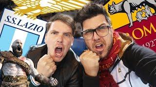 LAZIO vs ROMA 0 - 0 REACTION DERBY DALLO STADIO OLIMPICO w/ MikeShowSha - GodOfWar