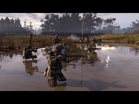 Company of Heroes 2 Online (4vs4) Wehrmacht - German steel!