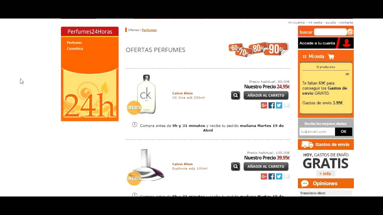 perfumes 24 opiniones