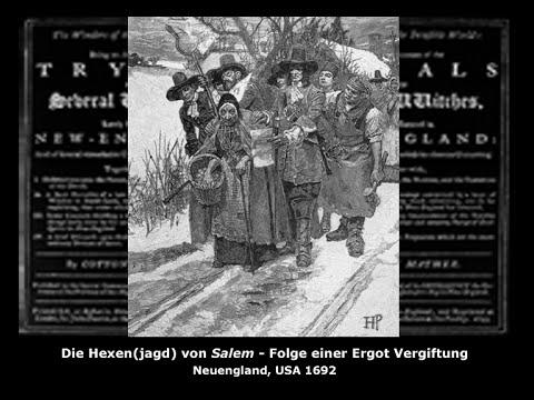 Die Rolle des Mutterkorn in den Hexenprozessen von Salem und Europa