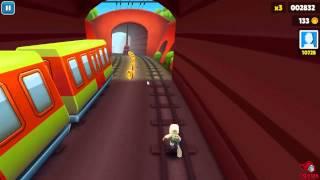 Subway Surfers HD Gameplay (PC) - My Longest Run !
