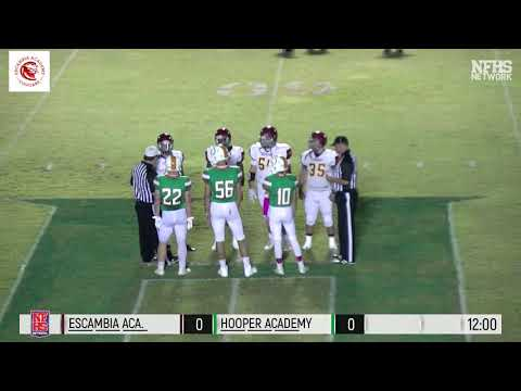 Escambia Academy vs. Hooper Academy 10/4/18