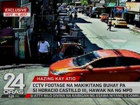 Exclusive: CCTV footage na makikitang buhay pa si Horacio Castillo III, hawak na ng MPD