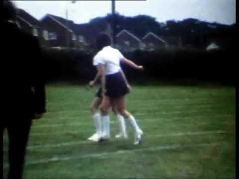 Caistor Grammar School Sports Day circ 1980 Lincolnshire