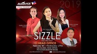 AIM Global Sizzle Host: Miko Imson February 20,2019 | AIM head Office