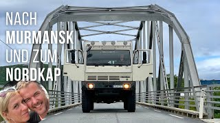 🇷🇺 OFFROAD-Wohnmobil  🇳🇴   Russland   Murmansk   Nordkap   LKW Steyr 12m18   4x4 Offroad Camper-2019