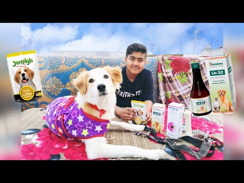 JerHigh Gravy  Dog� food    Liv.52 for Dog   Dog Tshirt   Calcium Bone & Merical Pet liquid .