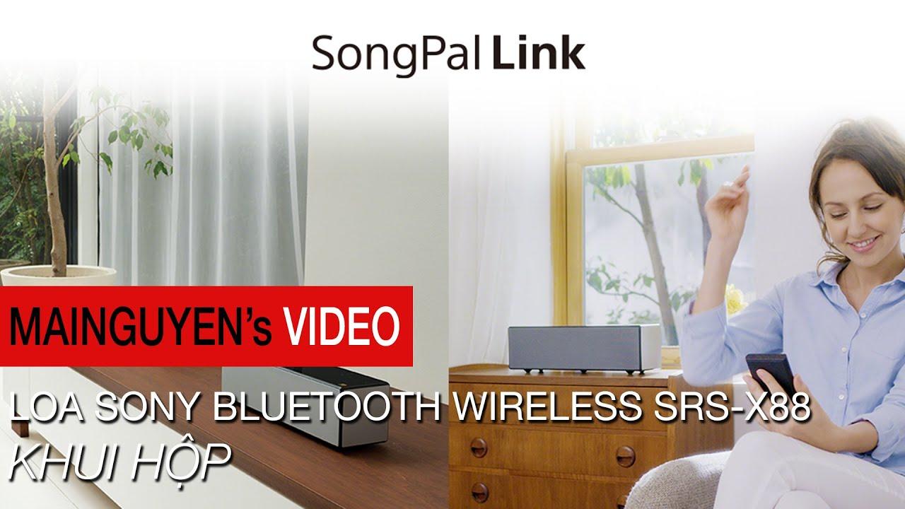 Khui hộp loa Sony bluetooth wireless SRS-X88 – www.mainguyen.vn
