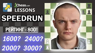Фото [RU] СПИДРАН на Chess.com с рейтинга 800! 18 июня 20.00 Мск