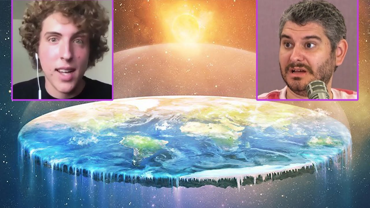 How Crazy Are Flat Earthers? -Ethan Klein & All Gas No Brakes