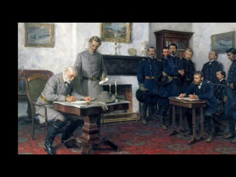 9th April 1865: Robert E. Lee's Surrender to Ulysses S. Grant