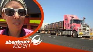 Truck Fahren im australischen Outback 54 Meter langer LKW und 685 PS  Abenteuer Leben  Kabel Eins