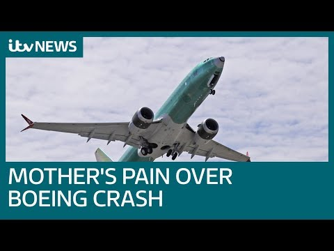 Mother's pain over daughter's Boeing death as recording reveals pilots' warnings | ITV News