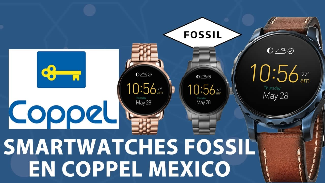 476f6cf392e6 Smartwatches Fossil Disponibles en Coppel Mexico - YouTube