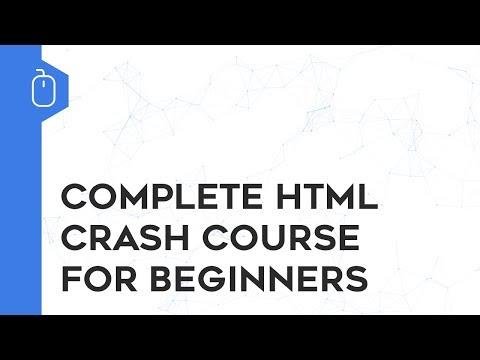 Complete HTML Crash Course