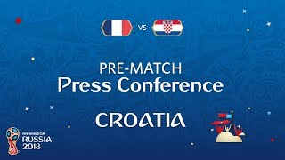 2018 FIFA World Cup Russia™ - FRA vs CRO - Croatia Pre-Match Press Conference