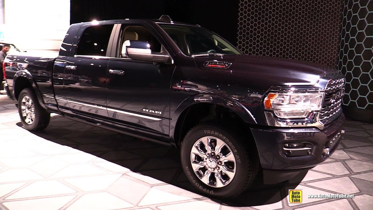 2019 Ram 2500 Limited - Exterior and Interior Walkaround - Debut at Detroit Auto Show 2019 - YouTube