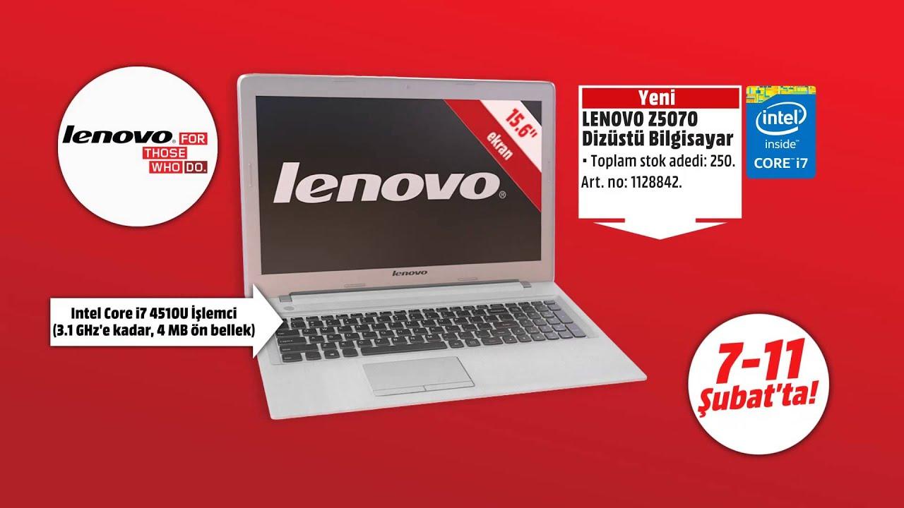 lenovo z5070 media markt kampanyas youtube