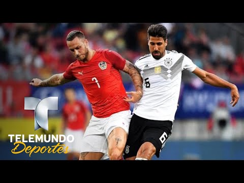 Austria dio lección de cómo vencer a Alemania   Copa Mundial FIFA Rusia 2018   Telemundo Deportes
