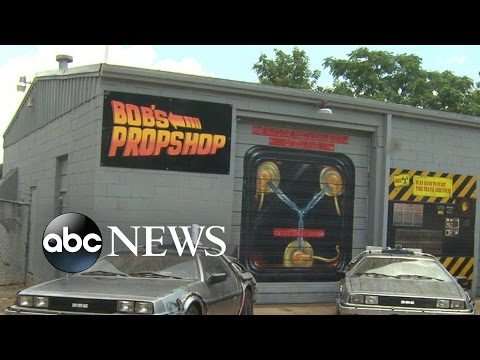 Meet the 'Back to the Future' Fan Building Tricked-Out DeLoreans
