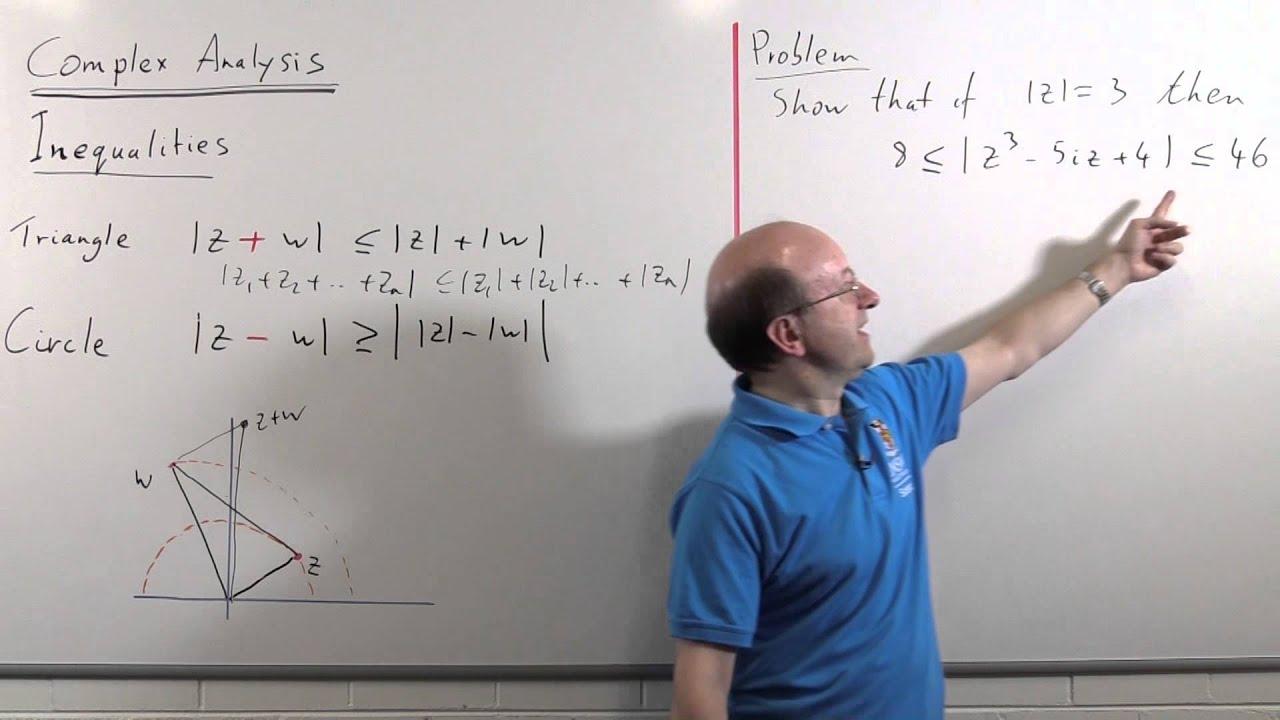 Complex Analysis 01: Inequalities