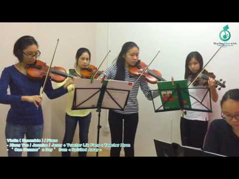 Violin (Ensemble)/Piano- 'One Summer's Day' from