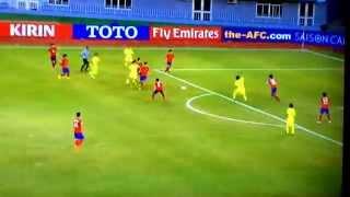 AFC U-19選手権 vs 韓国