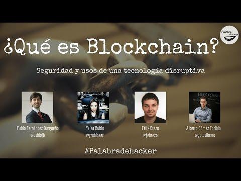 ¿Qué es blockchain? Seguridad y usos de una tecnología disruptiva