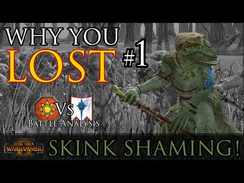 Why you LOST your battle #1! - Warhammer 2 Battle Analysis |