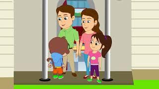 Семья английский для детей, обучение, английский язык для малышей