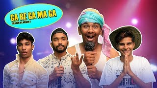 GA RE GA MA GA  || Funny Singing Auditions || Warangal Diaries