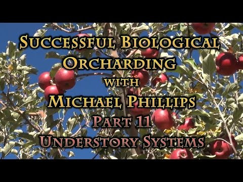 Successful Biological Orcharding with Michael Phillips Part 11 Understory Systems