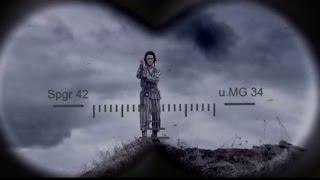 На съемках военного фильма