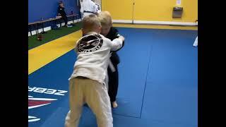 Dominique Jiu Jitsu Testimonial kids