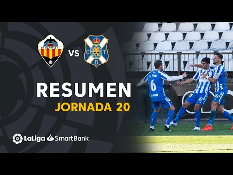 Castellon Tenerife Goals And Highlights