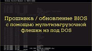 Прошивка\обновление BIOS через DOS мультизагрузочную флешку