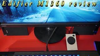 Edifier M1360 review 2.1 speaker system 2017