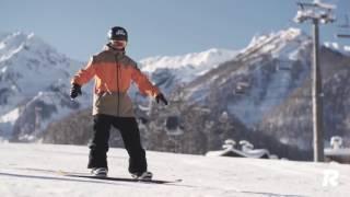 Как научиться кататься на сноуборде, урок 2 : научитесь контролировать задний кант