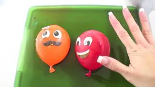 Cool Balloons / Learn Colors with Balloons / Baby Nursery Rhymes Song