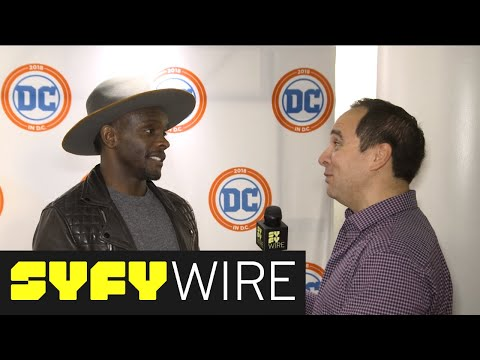 Gotham's Chris Chalk On A Lucius Fox And Barbara Kean Pairing  SYFY WIRE