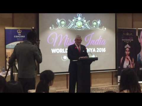 The Concord Hotel &Suites Nairobi Media Event for MIss India worldwide Kenya